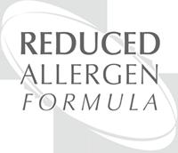 Una fórmula reducida en posibles alérgenos